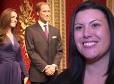 Kate Middleton se junta a príncipe William em museu de cera