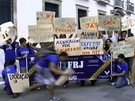 Greve j afeta mais da metade das universidades federais