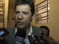 Ficarei muito ao telefone, diz Haddad aps Erundina desistir