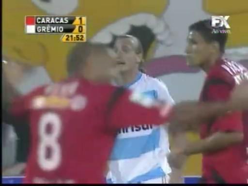 Libertadores: Caracas 1x1 Grêmio