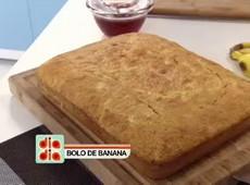 Aprenda a fazer um delicioso Bolo de Banana