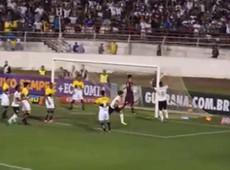 Alexandre Pato faz 1 a 0 para o Corinthians
