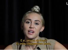 Miley Cyrus fala com exclusividade ao UOL sobre novo show e p�blico brasileiro, veja!