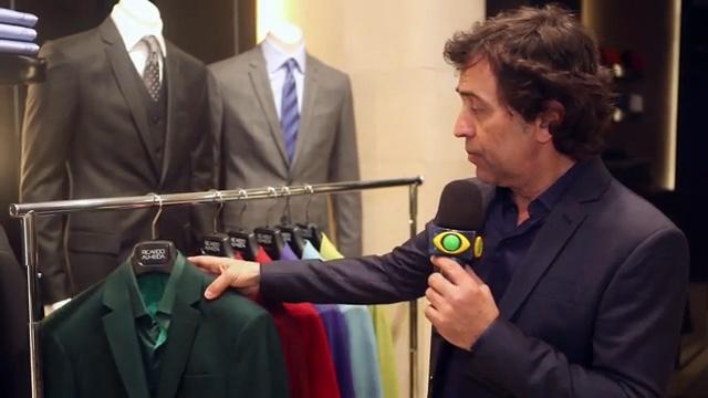 Ricardo Almeida conta como não errar no look monocromático