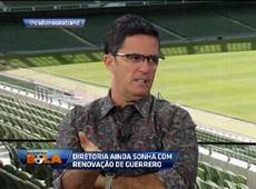 F. Fernandes: Mesmo sem renovar, Guerrero será crucial na Libertadores