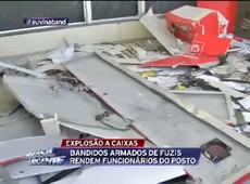 Caixas eletrônicos são explodidos em posto de gasolina em São Roque