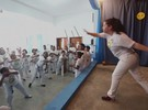 Capoeira para idosos propõe manter corpo e mente ativos