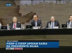 Setor industrial é a favor do impeachment de Dilma Rousseff