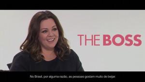 Melissa McCarthy fala sobre seu novo filme, A Chefa