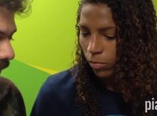 Drops Ol�mpicos - Brasil 0x0 Su�cia com Rafaela Silva