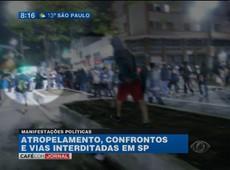 SP: cidade tem novos protestos contra impeachment