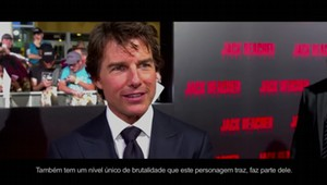 Repórter Hollywood conversa com Tom Cruise sobre novo filme