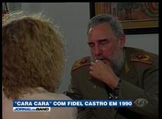 Relembre a entrevista de Fidel Castro a Marília Gabriela
