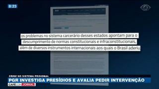Procuradoria-Geral da República investiga presídio