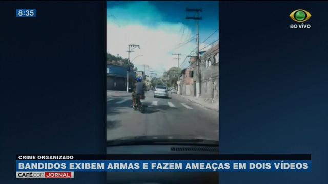 Criminosos fazem ameaças a facção rival em vídeo