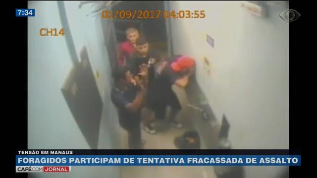 Foragidos de presídio cometem assalto em Manaus
