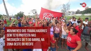 Greve geral: veja o que aconteceu na manhã desta sexta em Recife