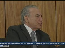 PGR prepara denúncia contra Michel Temer