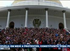 Constituinte toma posse na Venezuela