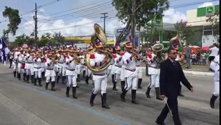 Desfile de 7 de Setembro no Recife