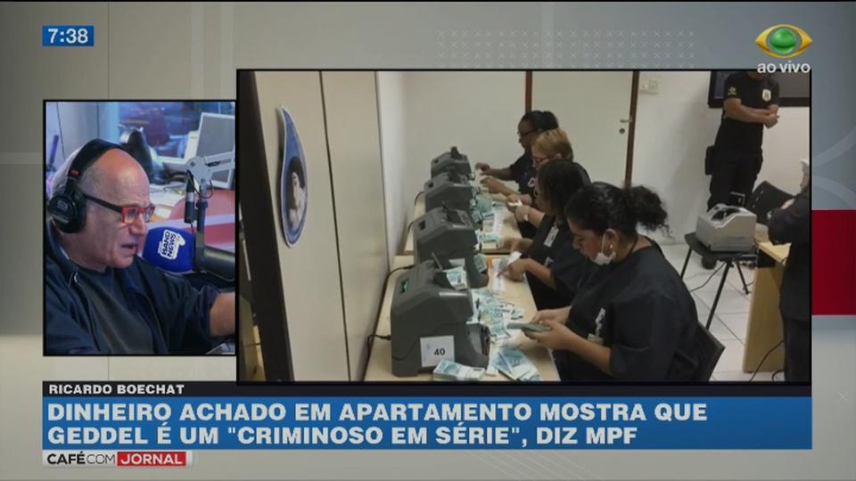 Boechat: Geddel deixou digitais por todo apartamento