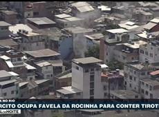Exército ocupa favela da Rocinha para conter tiroteios
