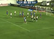 Gol de Cléber! Jogador estreia com pé direito e faz o segundo gol do Corinthians