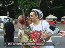 Papa, noiva e cangaceiro alegram prova de São Silvestre