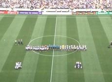 Abertura oficial da Arena Corinthians antes da partida Corinthians x Figueirense