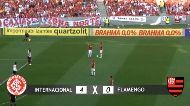 Inter Faz 4 A 0 No Flamengo Com Reverência A Fernandão E