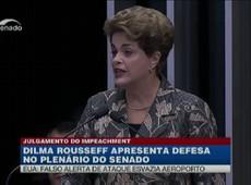 Dilma relembra julgamento militar na ditadura