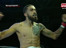 Jungle Fight 91: Carlin Soares vence com joelhada