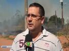 Incêndio atinge grande área verde em Votuporanga