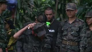 Resgate de adolescentes na Tailândia