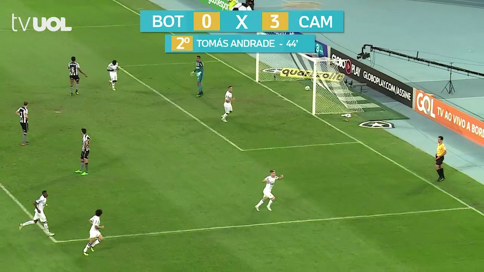 09738d78e6 Tomás Andrade com um lindo gol faz Botafogo 0 x 3 Atlético-MG - Esporte -  BOL