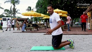 VivaBem no Verão  3 exercícios para fortalecer o core na praia ou em casa -  07 01 2019 - UOL VivaBem d8e877afe5