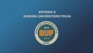 Como é feito o ranking de cursos do Ranking Universitário Folha