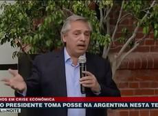 Alberto Fernández toma posse na Argentina nessa terça