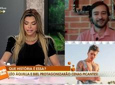 Léo Áquilla revela que viverá cenas picantes com Biel em filme -