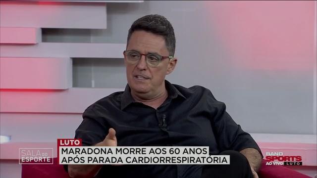 """Fernando Fernandes: """"O Maradona assumiu a voz do povo argentino"""""""