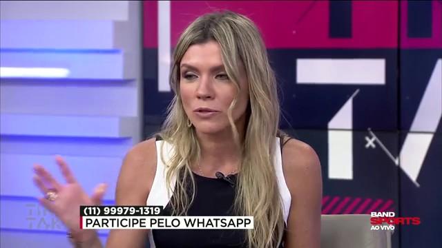"""Marília projeta eleições no Corinthians e diz: """"Vai ter confusão"""""""