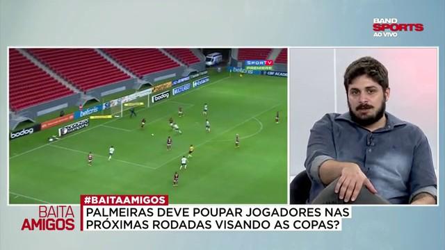 """Paulo: """"O time que o Abel encontrou passa longe do Felipe Melo"""""""