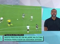 Denílson comenta rebaixamento iminente do Vasco