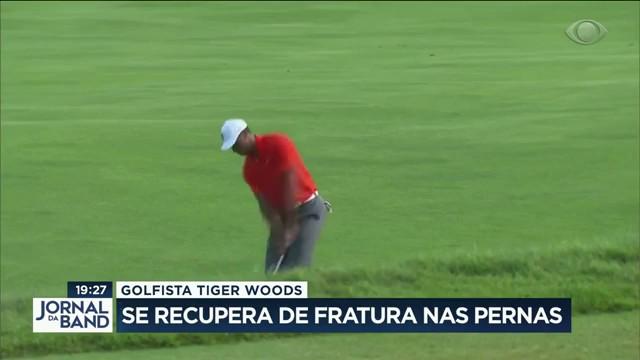 Golfista Tiger Woods: gênio do esporte segue internado nos EUA