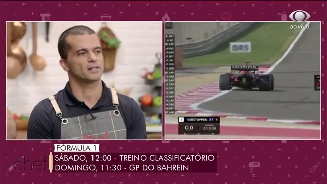 Edu Guedes recebe Max Wilson, comentarista da F1 na Band