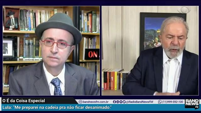 Lula: Não preciso ser candidato a presidente; não quero discutir 2022