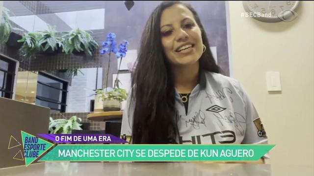 Manchester City se despede do seu ídolo, Kun Aguero