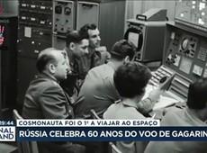 Rússia celebra 60 anos do voo de Yuri Gagarin