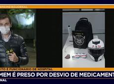 Funcionário do Beneficência Portuguesa é preso suspeito de desviar remédios