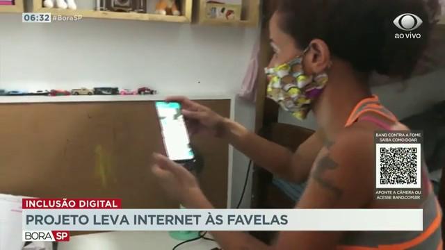 Projeto da CUFA leva internet às favelas